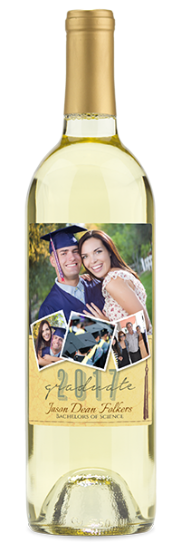 graduation gift bottle for him