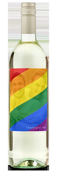 rainbow gay pride bottle