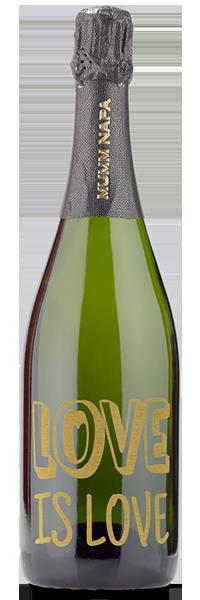 love wine bottle